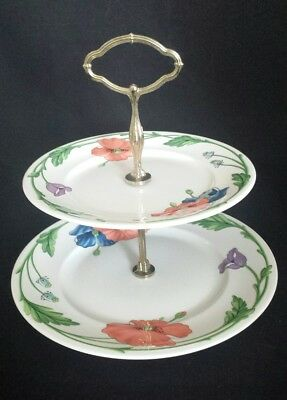 Villeroy & Boch Amapola Two-Tiered Server