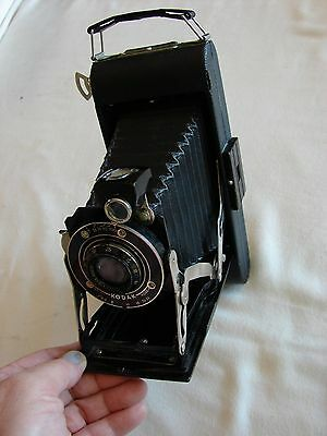 Vintage KODAK 1A Camera 1920s! Excellent Condition/ Accordian Bellows/ working