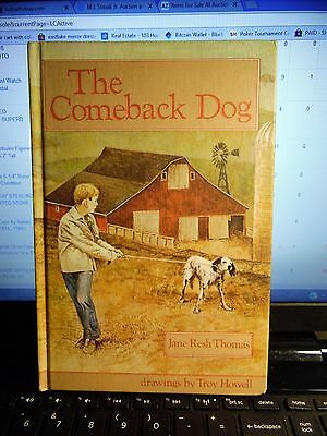 1981 Book The Comeback Dog by Jane Resh Thomas as Pictured