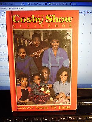 The Cosby Show Scrapbook 1986 Hardcover Weekly Reader Books A-1 Condition