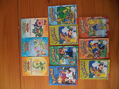 Pokemon Books X 10