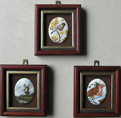 Three Mini Frames from Unknown Artist