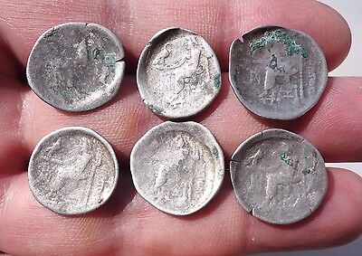 lot Celtic silver drachm,mintage by Danubian Celtic through the Philipp II times