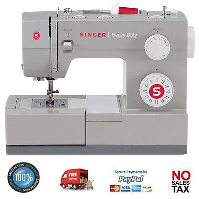 Singer Heavy Duty Sewing Machine Industrial Portable Leather Embroidery Quilt
