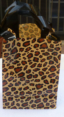 Clear Frosted Bags Leopard  Style