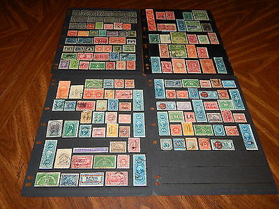 US Back of Book stamps - BIG lot of 158 mint hinged and used early stamps !!