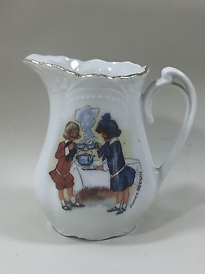 Altenburg China Germany Buster Brown Child's Teaset Porcelain Pitcher