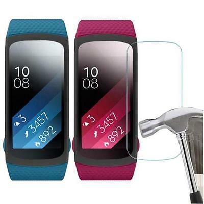5PC HD Film Intelligent LCD Screen Protective For Samsung Gear Fit 2 SM-R360