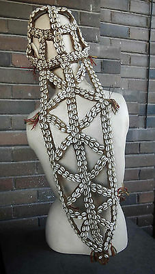 Papua New Guinea Sepik River Tribe Traditional Bridal Wedding Veil