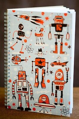 Ecojot Boys Blank Book Notepad [60 Pages] 100% Recycled Paper