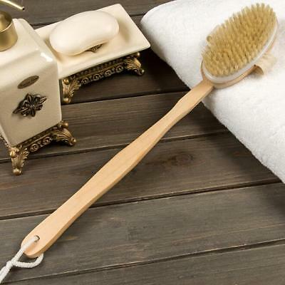 Scrubber Health Body Brush Natural Bristle Bath 1 Pcs Back Shower Brushes Long