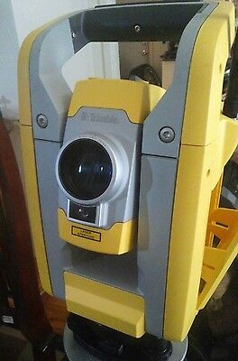 """Great Trimble S3 2"""" Robotic Total Station gun with tripod, great shape!"""