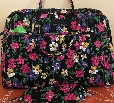 NWT Vera Bradley WEEKENDER IN WILDFLOWER GARDEN LARGE Travel BAG
