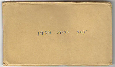 1959 Mint Set SEALED - FREE DELIVERY IN THE U. S. A.