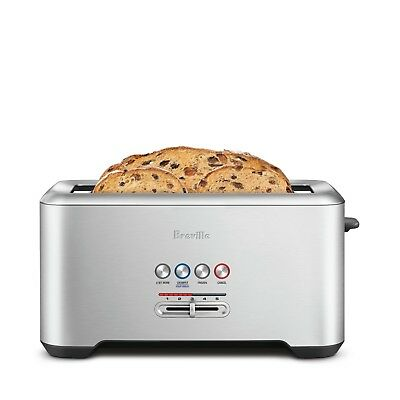 NEW Breville BTA730 Lift and Look Pro 4 Slice Toaster Grey RRP139.95