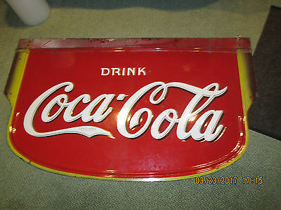 Vintage Coca Cola 60 X 36 Inches Large Porcelain Sign 1930's Low Price $$$$$