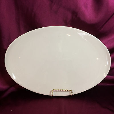Iroquois Informal, Accent Orange or Harvest Time, Large Oval Platter
