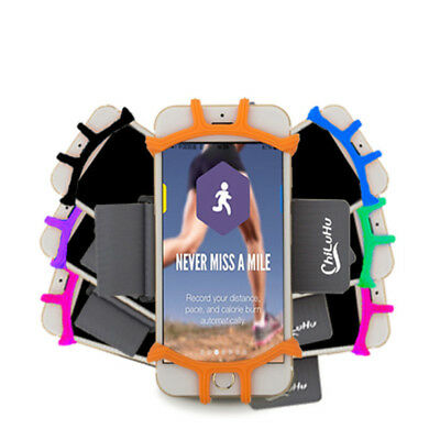 "For 4""-6"" Cellphone Armband Case Sports GYM Running Exercise Arm Band Holder"