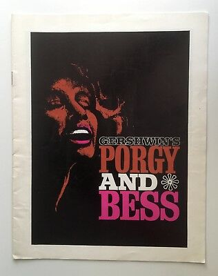 Porgy And Bess 1965 Theatre Programme Inia Te Wait Phyllis Bash Delores Ivory