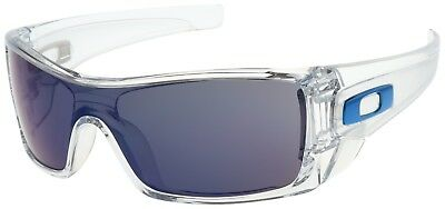 Oakley Batwolf Sunglasses OO9101-07 Polished Clear | Ice Iridium Lens | BNIB |