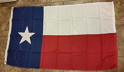 TEXAS STATE FLAG 3 x 5 BANNER INDOOR OUTDOOR LIGHT WEIGHT POLYESTER