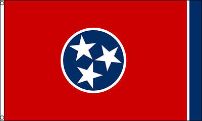 TENNESSEE STATE FLAG 3 x 5 BANNER INDOOR OUTDOOR LIGHT WEIGHT POLYESTER