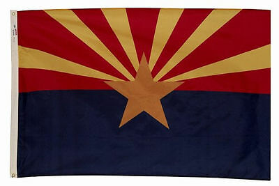 ARIZONA STATE FLAG 3 x 5 BANNER INDOOR OUTDOOR LIGHT WEIGHT POLYESTER