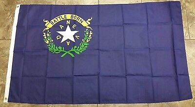 NEVADA STATE FLAG 3 x 5 BANNER INDOOR OUTDOOR LIGHT WEIGHT POLYESTER