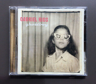 GABRIEL RIOS - Ghostboy CD / DVD NMint 2004 13 Tracks Plus Bonus DVD Latin