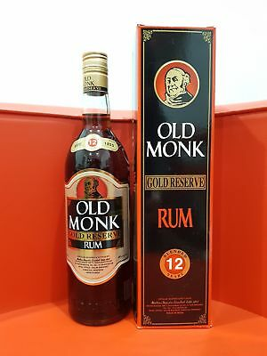 Old Monk Gold Reserve 12 Year Old Rum 700 ml @ 40 % abv