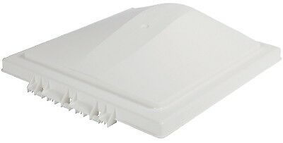 RV Roof Vent Lid 14x14in Trailer Ventilation Cover White Fits Ventlilne 2008 Up