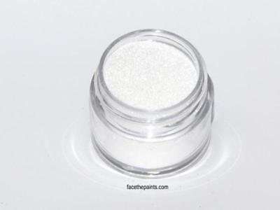 Glitter ABA White Brilliant Face and Body Paint Costume Makeup