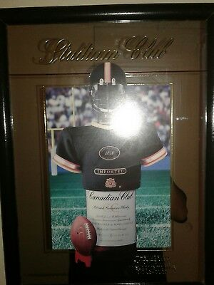 Canadian Club football Picture_Mirror Sign_Stadium Club_Whisky_