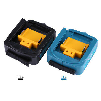 ADP05 USB Battery Adapter Charger For Makita BL1815 BL1830 BL1840 BL1850 Black
