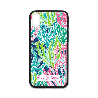 separation shoes cdd78 5b7e8 NEW LILLY PULITZER summer sea HARD CASE for Iphone 6s 6s+ 7 7+ 8 8 Plus X  Cover