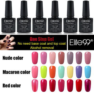 Elite99 UV Gel  3 EN 1 Nail Polish 10ml Vernis Semi Permanent Vernis à Ongles