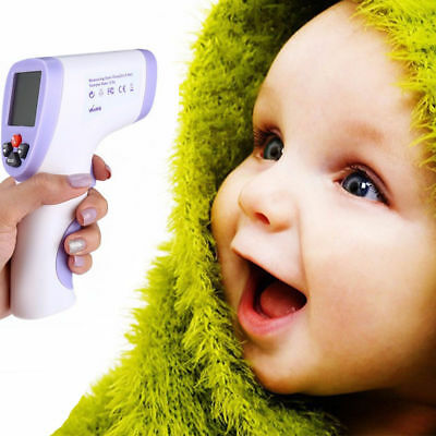 Baby Forehead non-contact Digital Infrared IR Thermometer Temperature Laser Gun