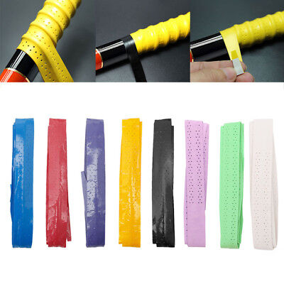 8Colors Absorb Sweat Stretchy Tennis Squash Schläger Band Grip Tape Band Wrap