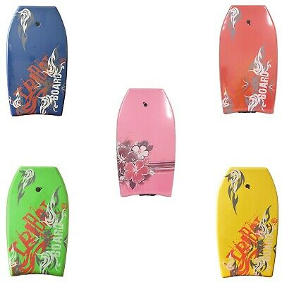 """Nalu Tribal 33"""" XPE Bodyboard With Leash. 3 Colours To Choose From"""