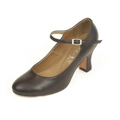 """Dimichi Adult """"Mia"""" Classic Leather Sole Character Shoes"""