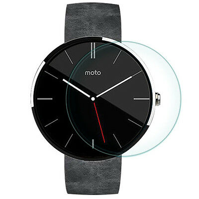 2Pcs 9H Tempered Glass LCD Screen Protector Film for Motorola Moto 360