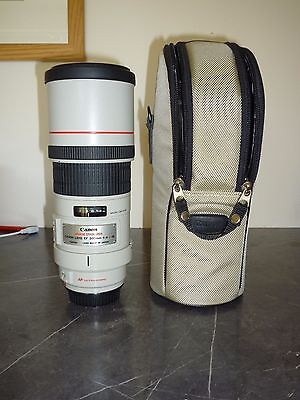 CANON EF 300mm 1:4 L IS USM LENS - 300 mm f/4.0L