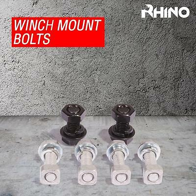 Winch Mounting Bolt Set for 9000lb - 20000lb Mounting Plates - RHINO WINCH