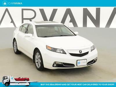 2013 Acura TL TL Base WHITE 2013 TL with 29596 Miles for sale at Carvana