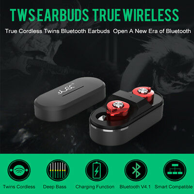 Bluetooth Headset Mini Twins True Wireless Bluetooth Headphones Stereo Earbuds
