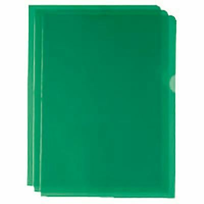 Green Cut Flush Folders (Pack of 100) WX01488 [WX01488]