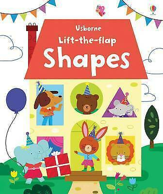 Lift the Flap Shapes by Felicity Brooks (Board book, 2015)