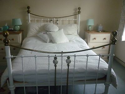 brass bed double