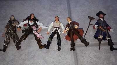 "Pirates Of The Caribbean Action Figure collection 3.75"" scale toys"