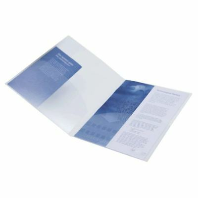 Rapesco A4 Twin ID File Clear 787 (Pack of 5) [HT00156]